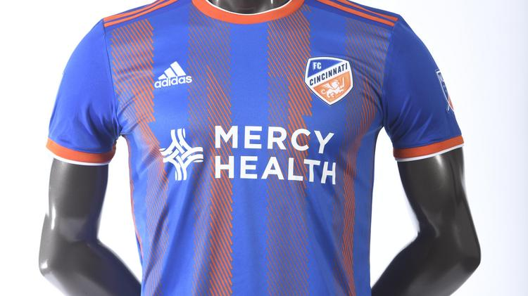 low priced b79d6 dff2b FC Cincinnati unveils MLS jerseys - Cincinnati Business Courier