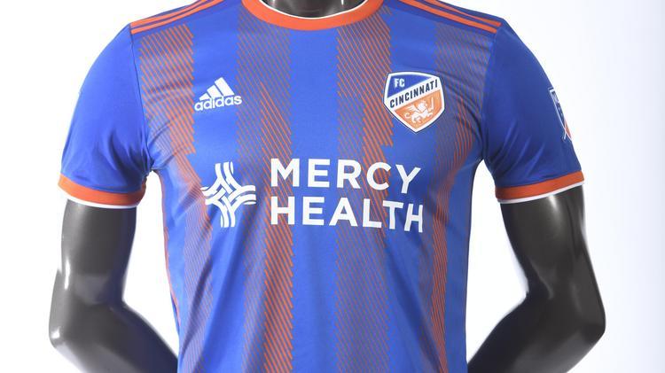 low priced 61d74 3aebe FC Cincinnati unveils MLS jerseys - Cincinnati Business Courier
