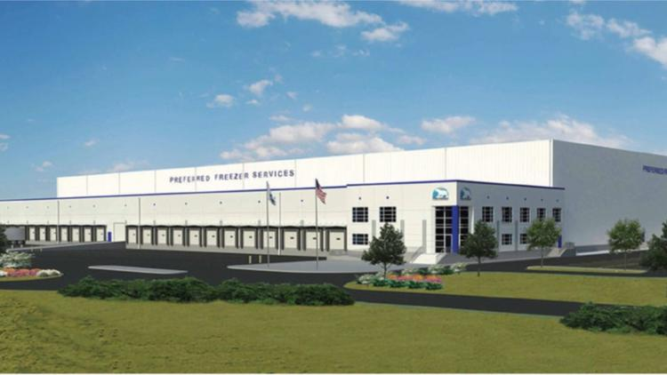 Preferred Freezer Services investing $70M to build