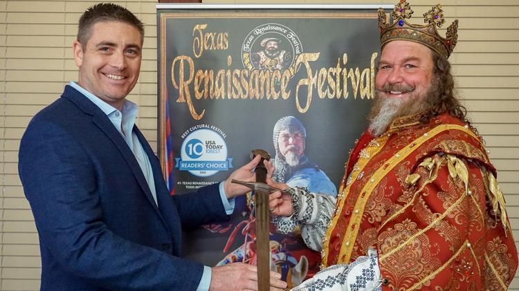 Renaissance Festival 2020 Houston.Texas Renaissance Festival Names New Ceo Houston Business