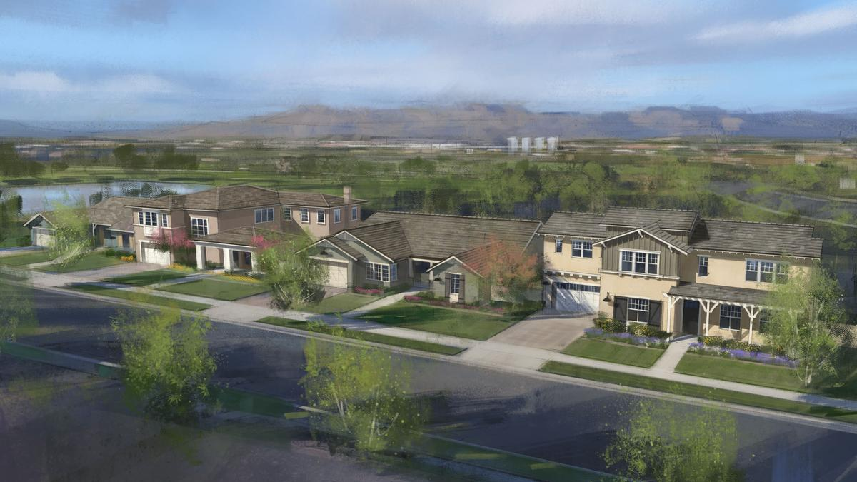 Camelot Homes breaks ground at Gilbert's Morrison Ranch - Phoenix Business Journal