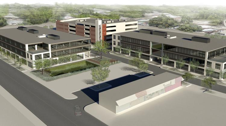 The Eastlake at Tillery Class A office project will consist of two buildings at 78,000 square feet and 84,000 square feet, respectively, as well as an above-ground parking garage The project will be built at 3212 E. Cesar Chavez St. in East Austin.