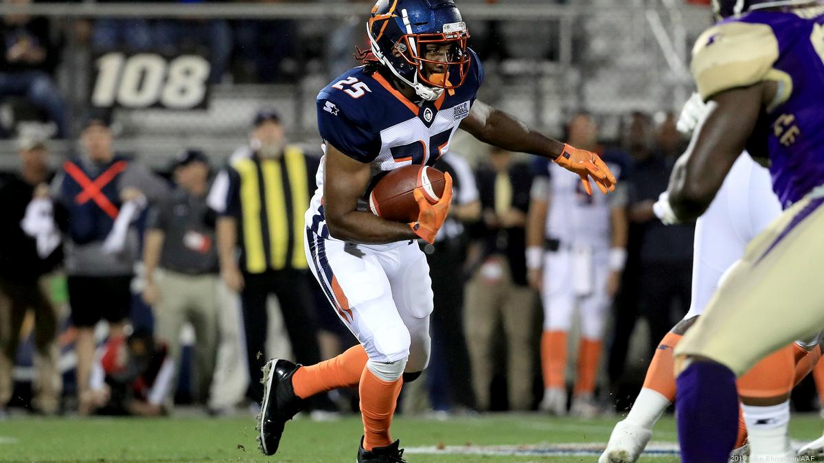 AAF's Orlando Apollos football team ready for to wow fans in first away game - Orlando Business Journal