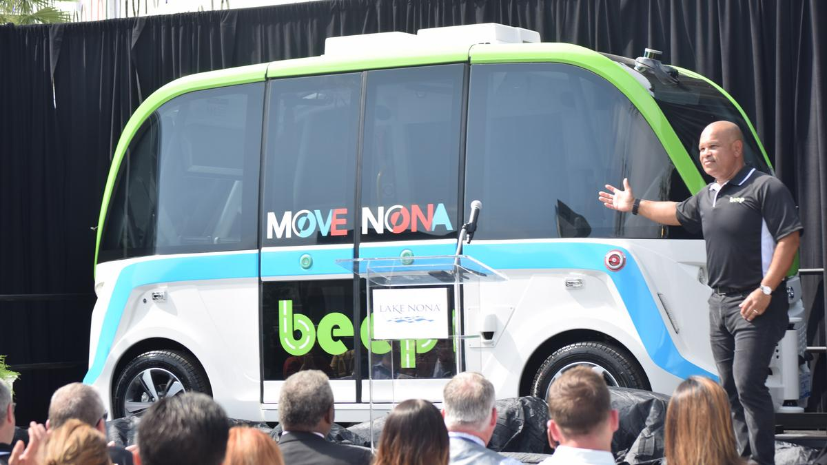 Orlando's Lake Nona to get Beep Inc. vehicles by spring - Orlando Business Journal