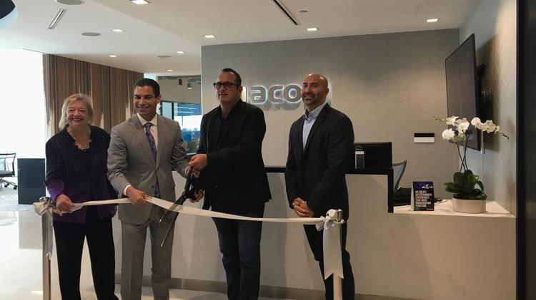 Viacom opens international HQ in downtown Miami - South