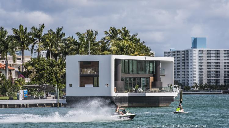 Pleasant Photos Arkup 1 The 5 5M Floating Home In Miami South Download Free Architecture Designs Scobabritishbridgeorg