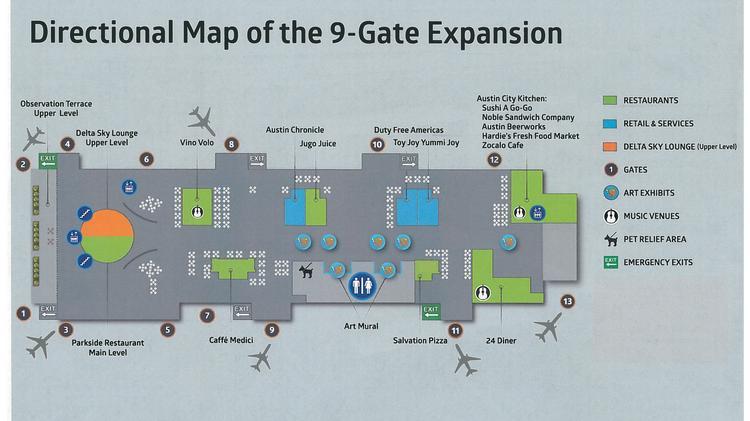 Abia Debuts 350m Terminal Expansion Austin Business Journal
