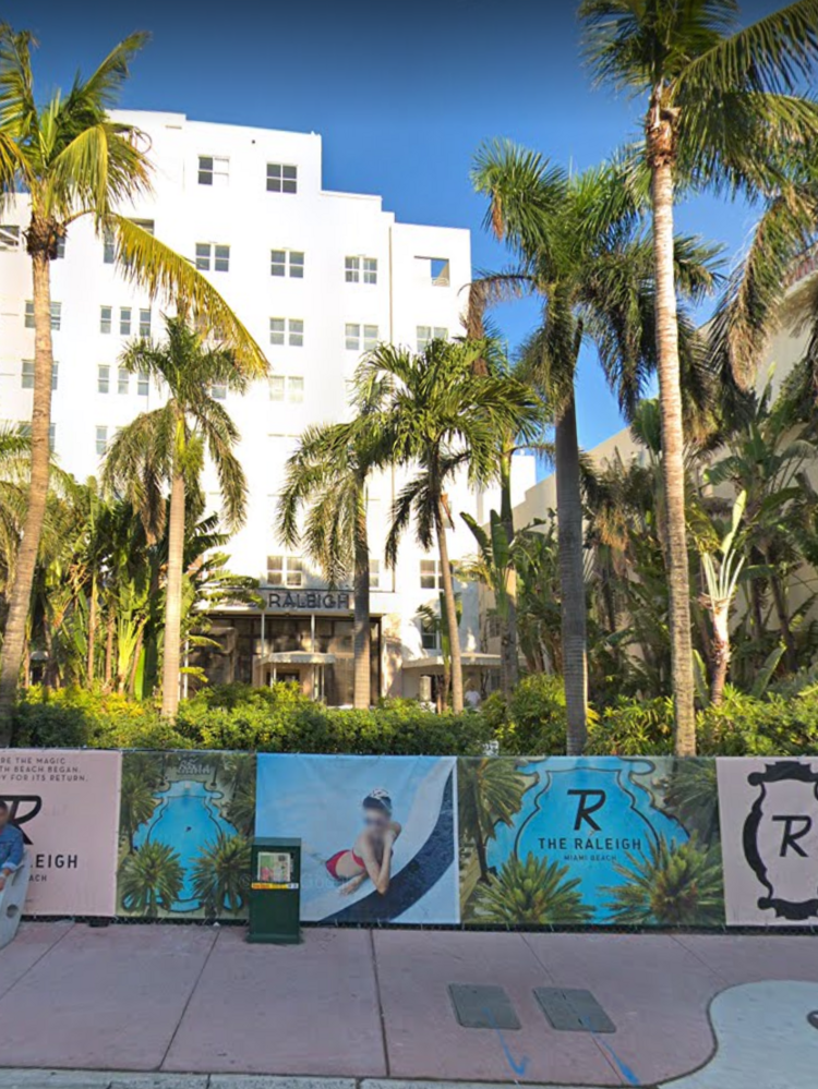 Raleigh Hotel Miami Beach To Shvo