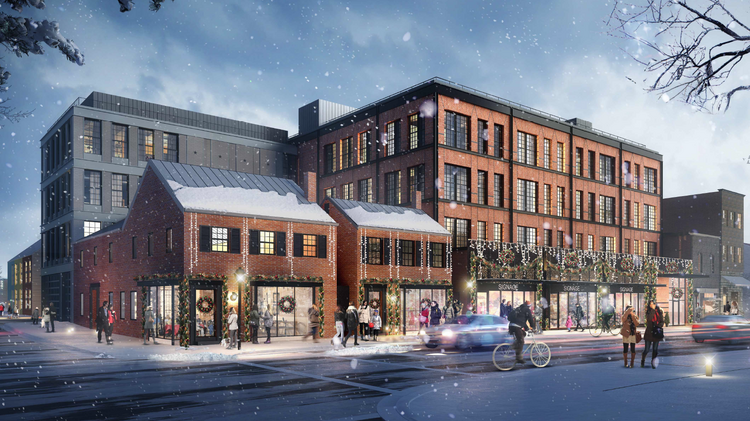 Holladay, Foundry proposed mixed-use for 1300 King in Old ...