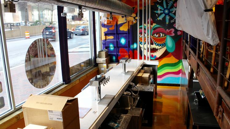 Downtown Baltimore S New R R Taqueria Gets Ready For Its