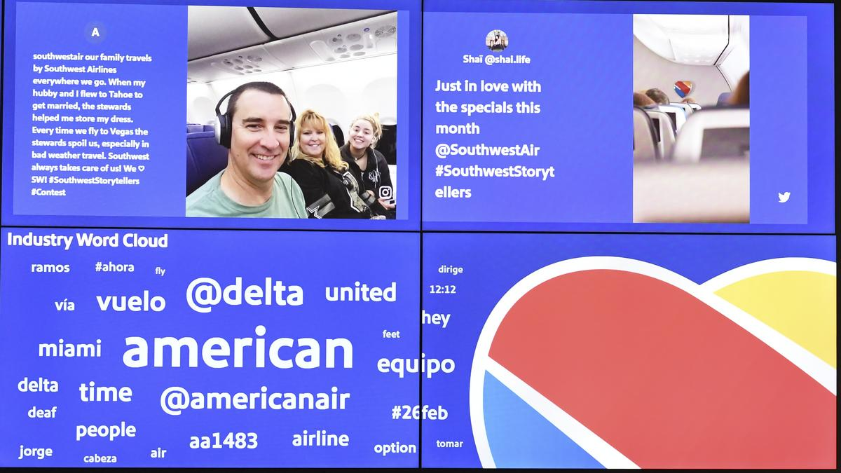 the latest 06e74 1b605 Social media LUV  How Southwest Airlines connects with customers online