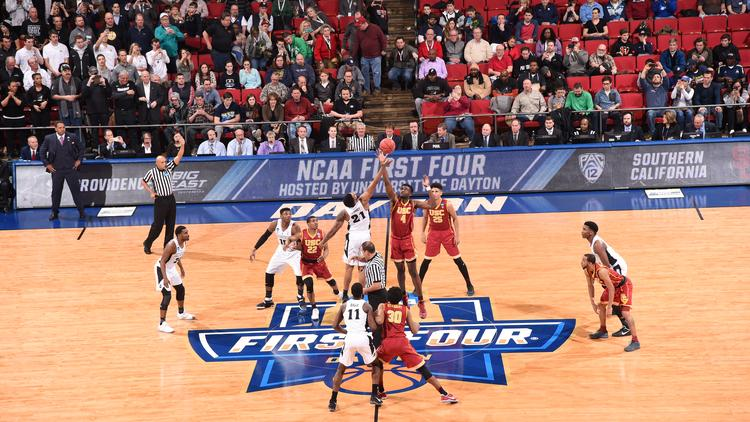 The Ncaa First Four Tournament In Dayton 2018