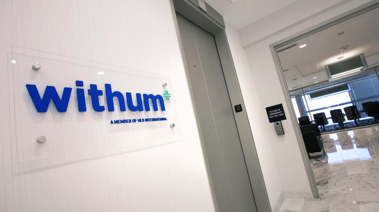 Visitors To WithumSmith+Brownu0027s Downtown Orlando Office Are Greeted By A  Bright, Modern Decor