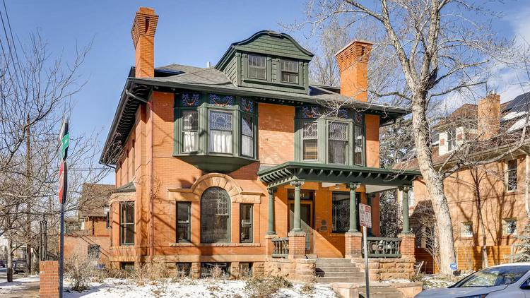 Seller of historic 123-year-old Denver home listed for $1 9M