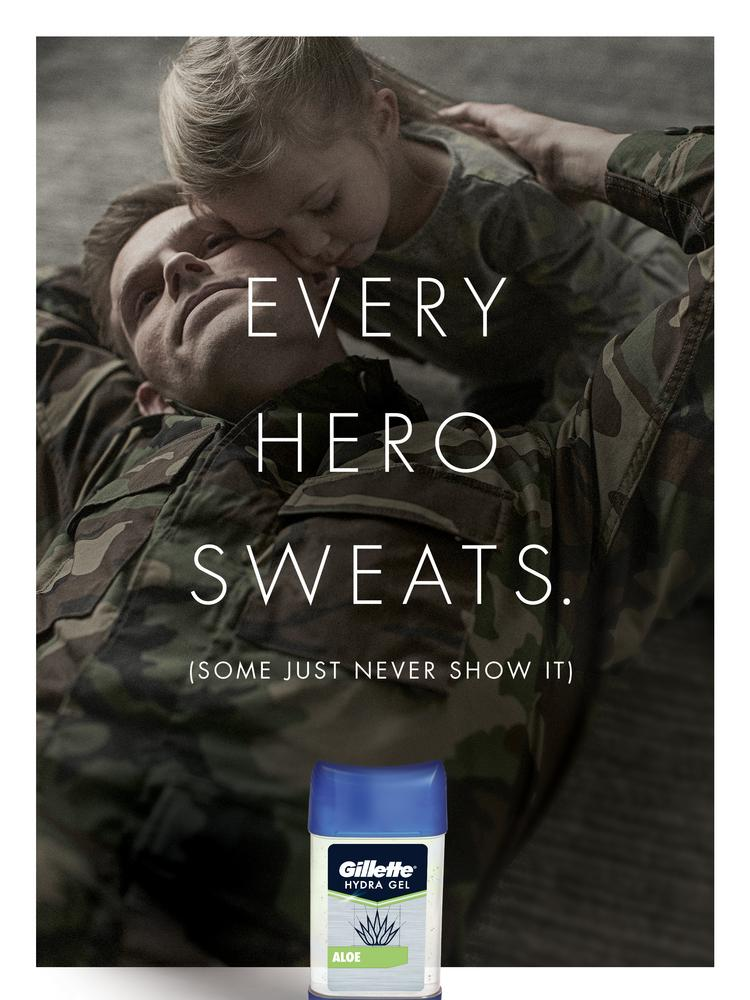 P&G launches Gillette campaign focused on U S  military