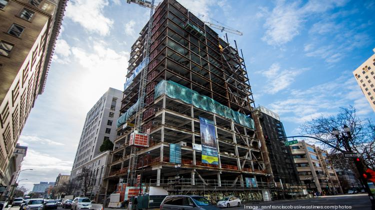 A look at Oakland's 1100 Broadway office tower 'topping off