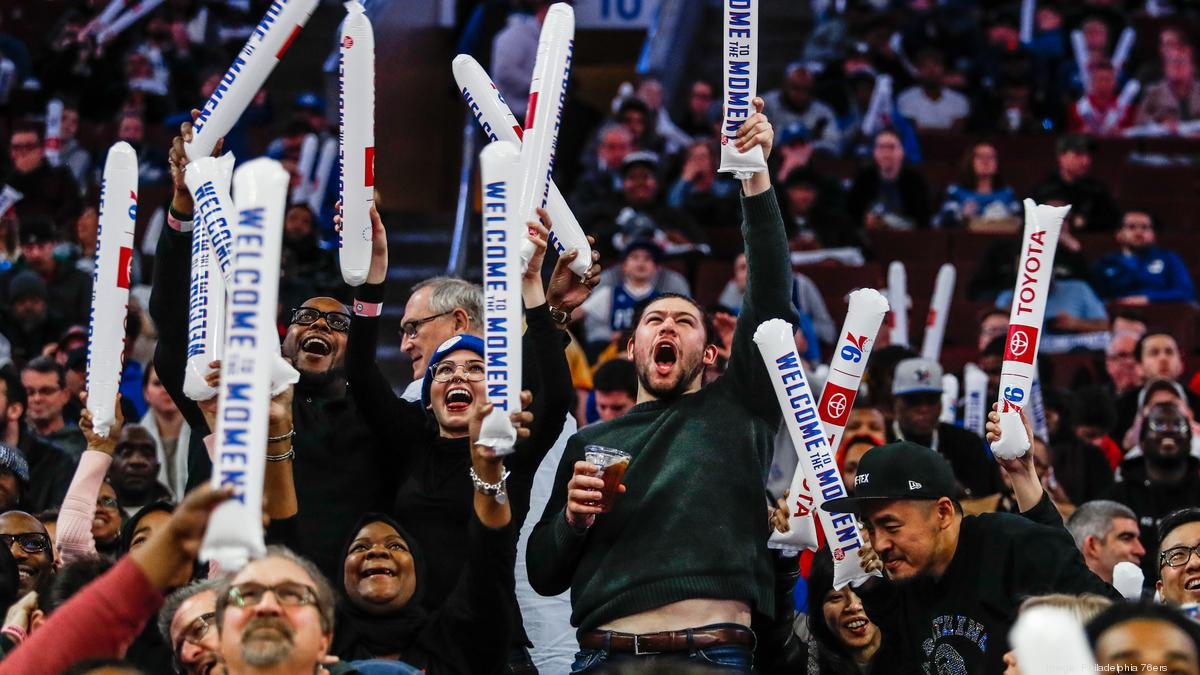 Sixers shoot to the top of NBA attendance rankings - Philadelphia