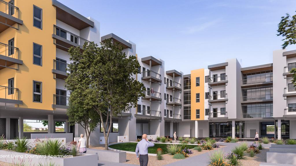 Beatitudes Campus Starts Redevelopment Phoenix Business Journal