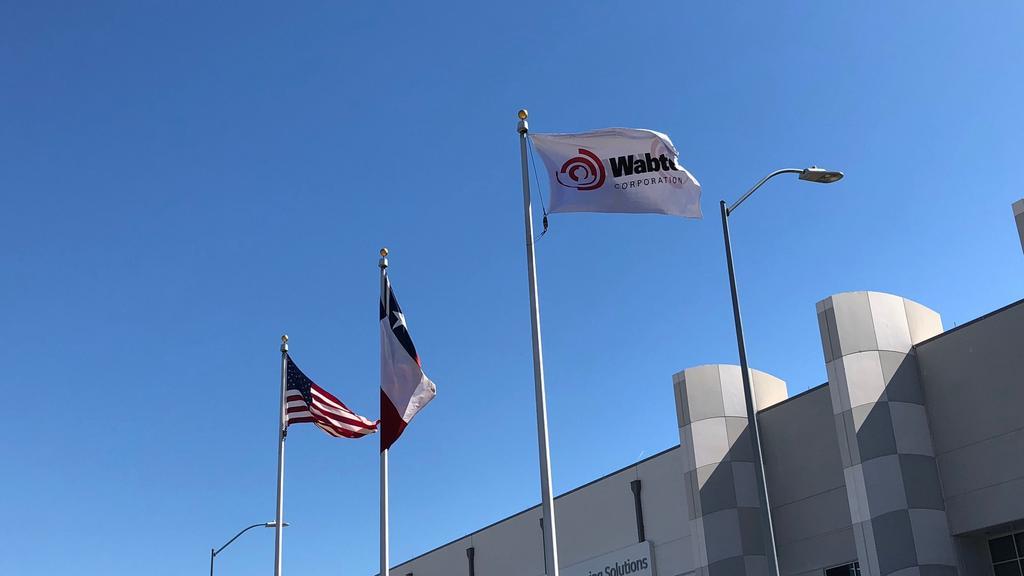 Fort Worth locomotive facility reaches milestone