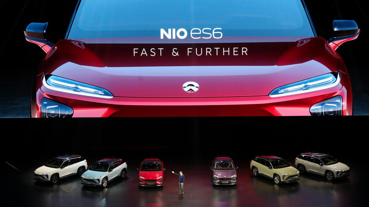 Shares Of Chinese Tesla Killer Nio Jump Despite