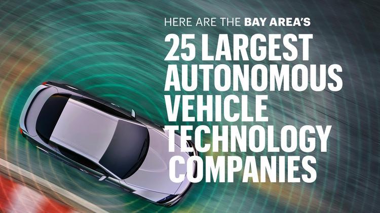 The largest autonomous vehicle part producers in the Bay
