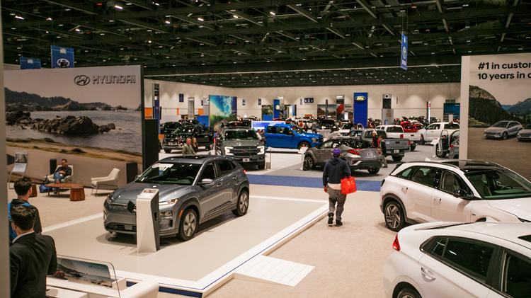 Inside The 2019 Silicon Valley Auto Show At San Jose Mcenery Convention Center On March