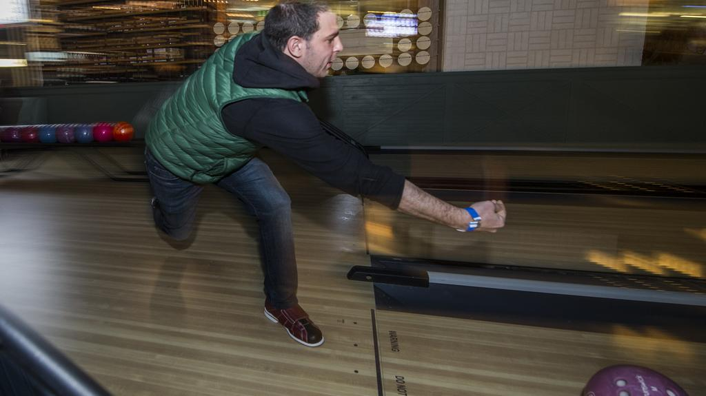 Bowling, Jenga and Pac-Man - Business leaders check out Punch Bowl Social: Slideshow