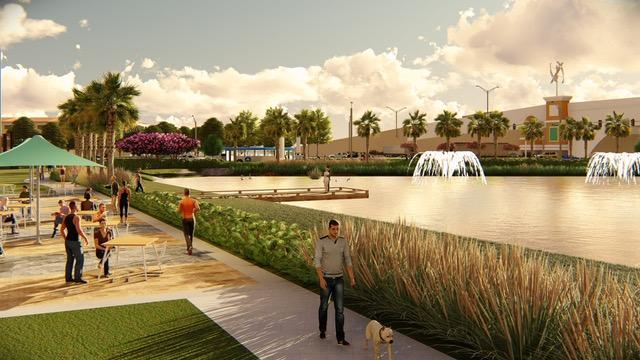 Lakeside Park at Midtown Tampa