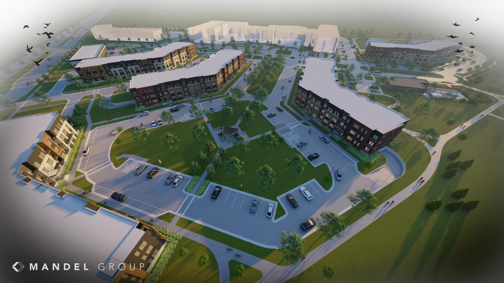 Ballpark Commons to add 265 apartments from Mandel Group