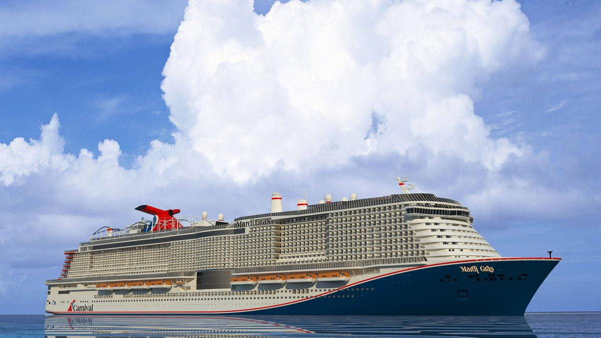 Carnival Cruise Line S New Mardi Gras Ship Will Sail Out