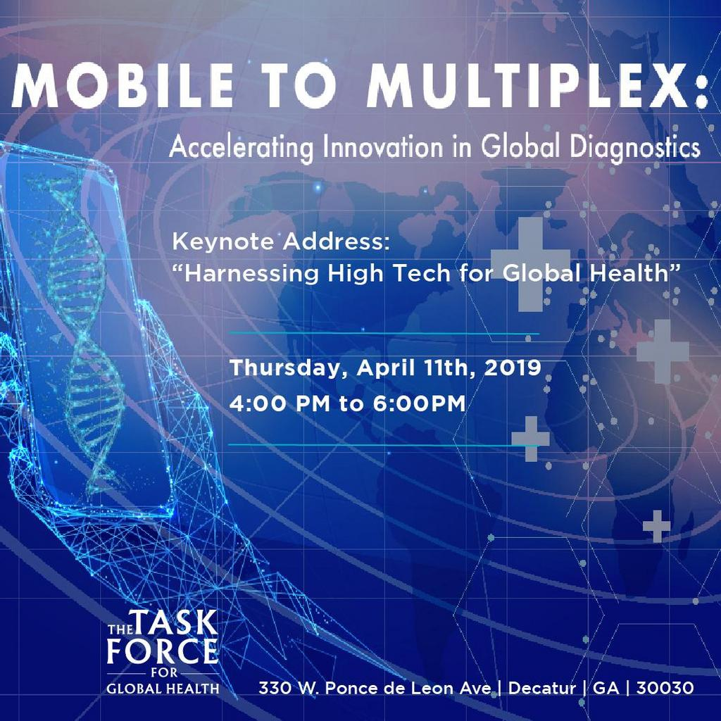 Mobile to Multiplex: Accelerating Innovation in Global Diagnostics