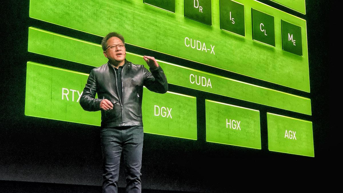Nvidia CEO at GTC on Mellanox deal, enterprise partnerships, self