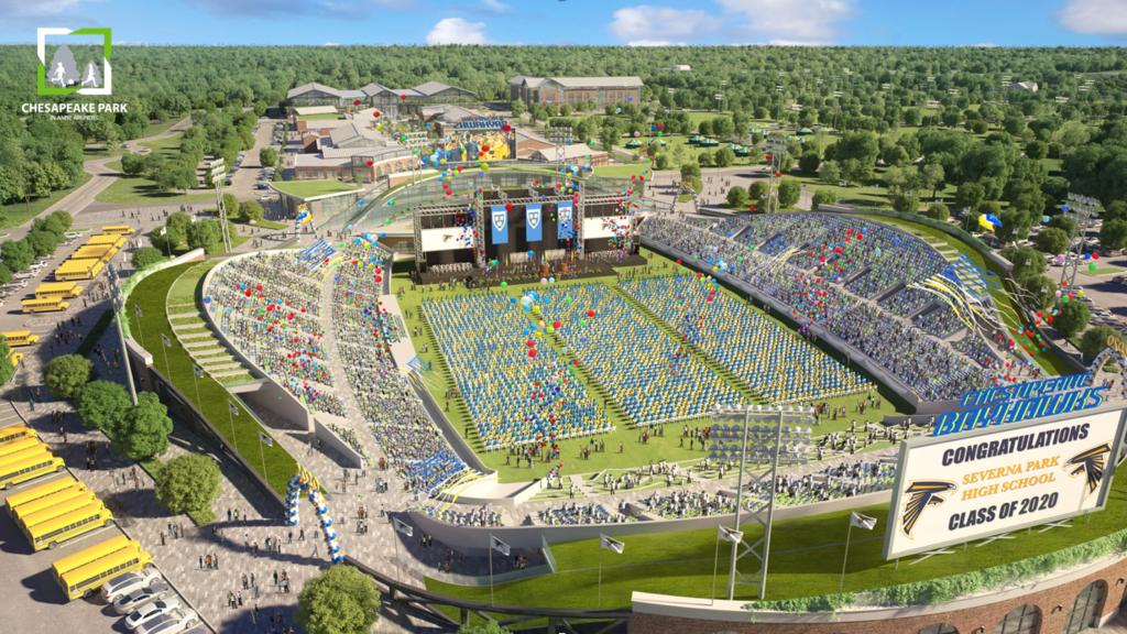 Bayhawks present 'final vision' for Chesapeake Park in Anne Arundel