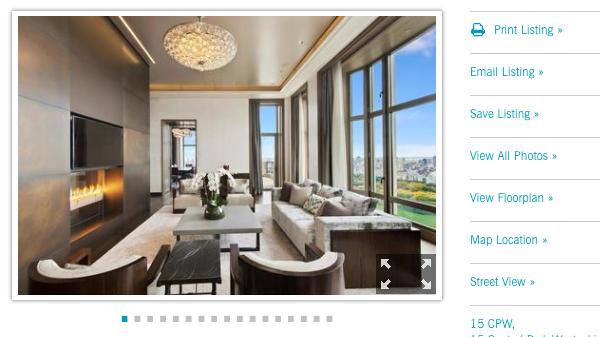 Garmin co-founder Min Kao lists $55M NYC penthouse for sale