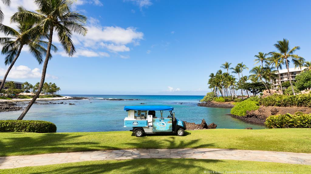 "Hilton Waikoloa Village welcomes new ""adult ice cream truck"""
