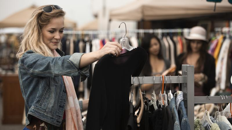 Resale clothing market will double in five years, report says