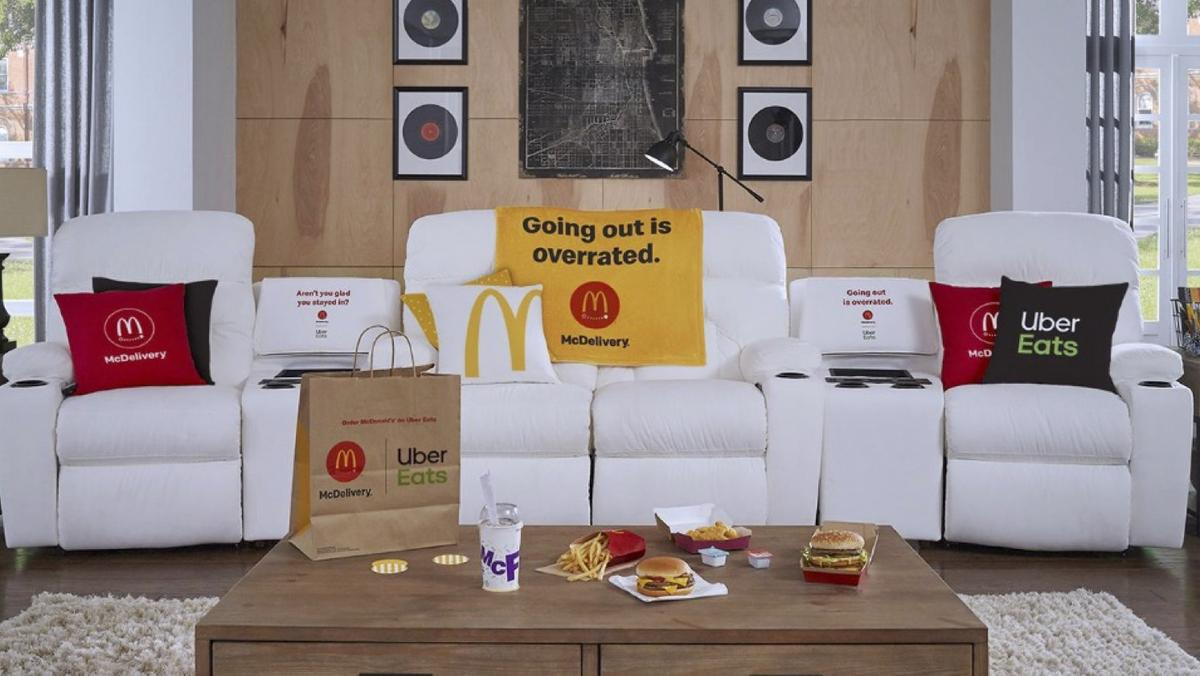 McDonald's tricked-out sofa giveaway is a couch potato's dream