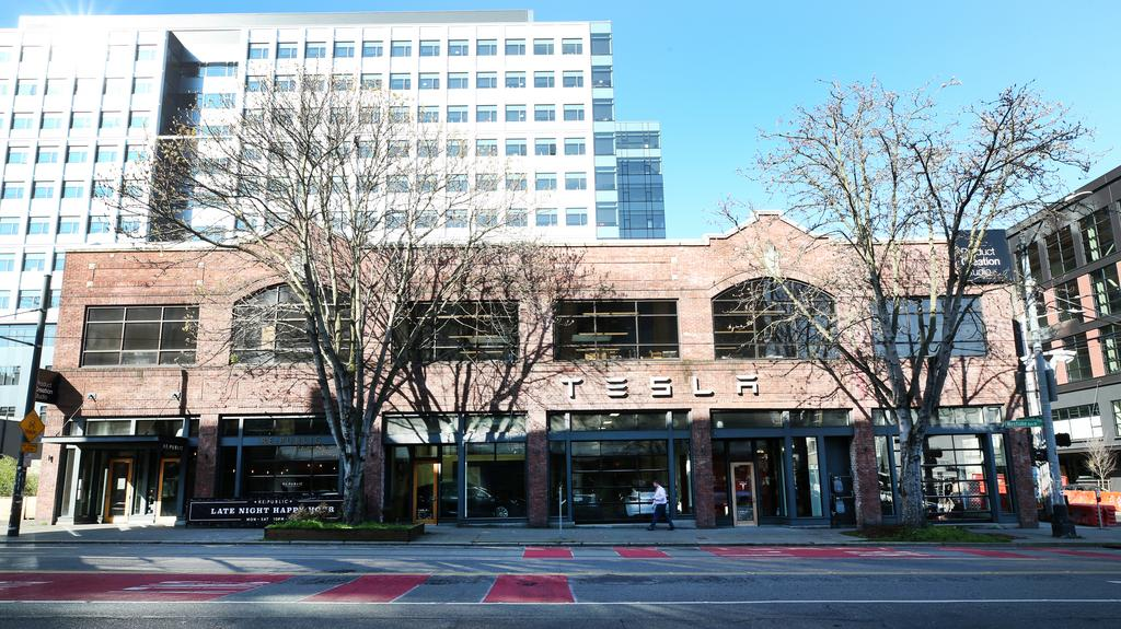 Mixed-use tower proposed for top of Tesla's South Lake Union building