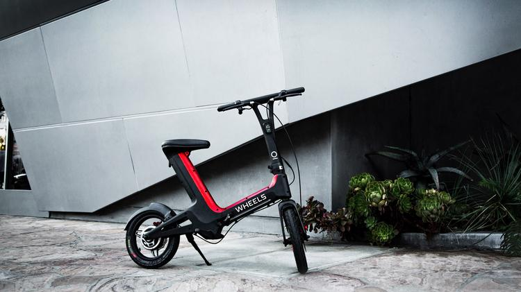 Wag founders roll out Wheels e-bikes in Los Angeles - L A  Biz