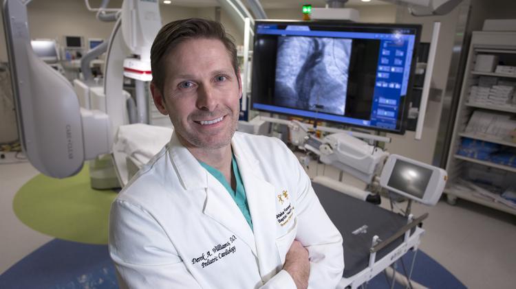 Wake Forest Baptist Heath pediatric cardiologist treating