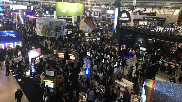 Check out scenes from Day 1 of video-game conference PAX