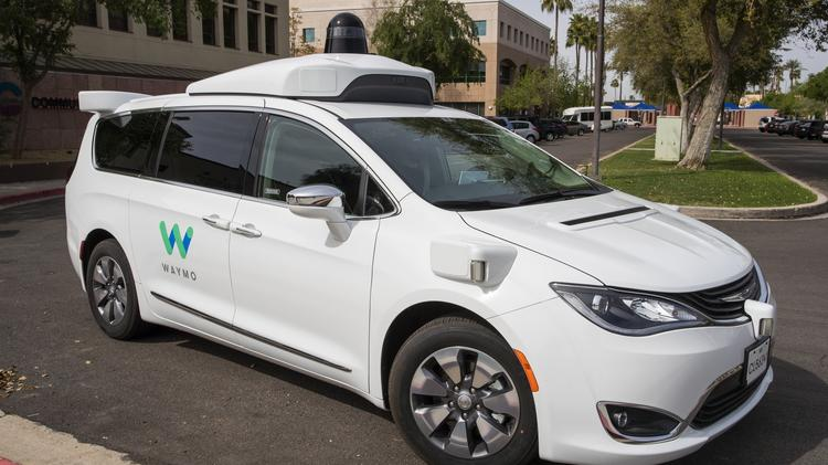 See a Waymo One autonomous vehicle in action (Video