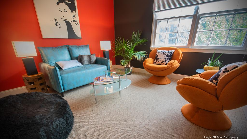 Cool Digs: At Cyphers Agency's homey office, each employee gets a decorating budget