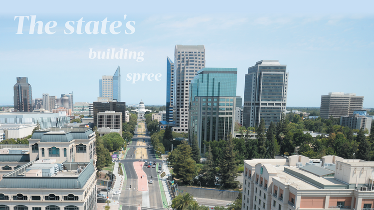 State of California prepares for downtown