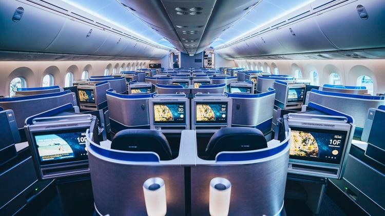 United Airlines' new inflight entertainment system nabs big