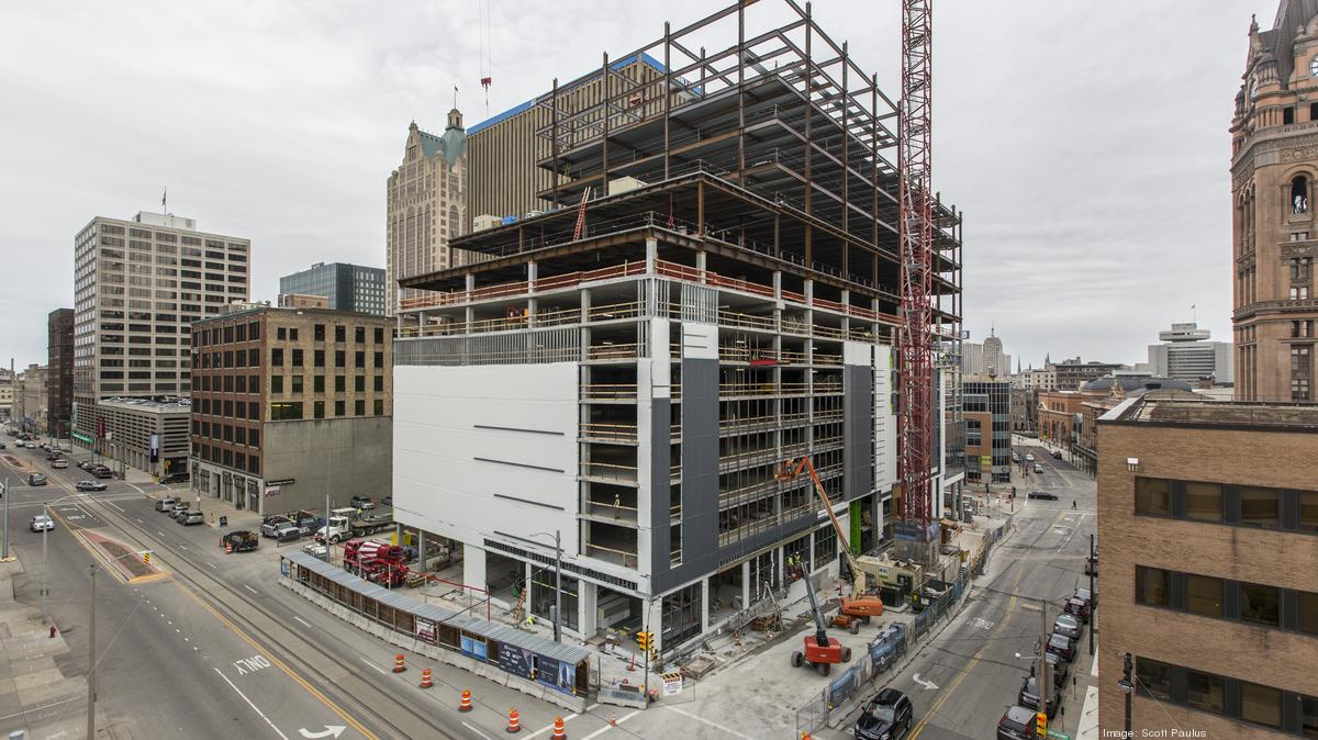 Inside Look At Construction Of New Downtown Milwaukee Bmo