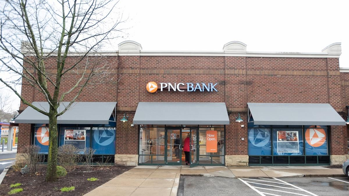 Check out PNC FInancial Services Group's prototype branch — it's at