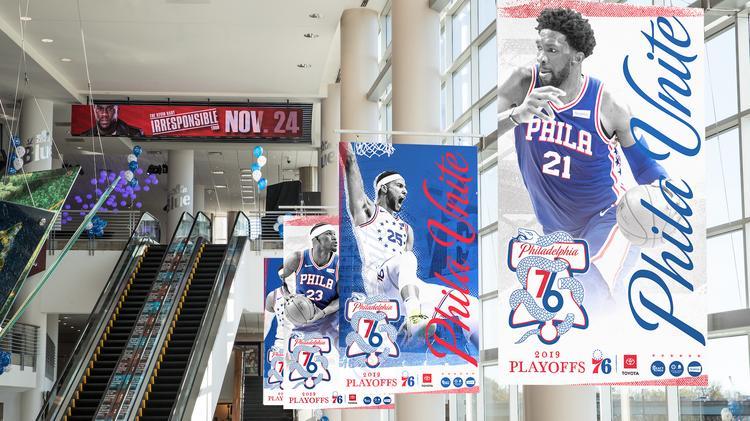 buy online 9d0bb d1a24 Philadelphia 76ers resurrect 'Phila Unite' campaign for ...