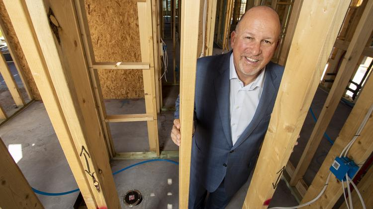 Steve Hilton, chairman and CEO of Meritage Homes Corp.