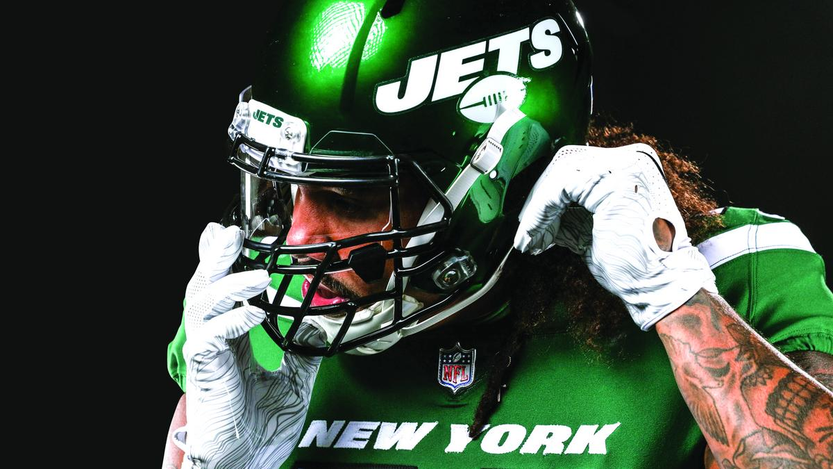 new style 5f204 8aa39 Jets! NFL team spends 5 years to craft rebrand - New York ...